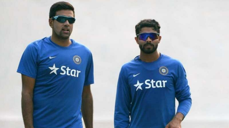 Spin duo of Ravichandran Ashwin and Ravindra Jadeja has been rested from the upcoming three-match T20 Internationals against England. (Photo: AFP)
