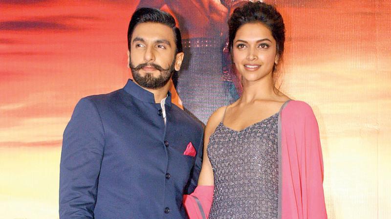 Ranveer Singh and Deepika Padukone.