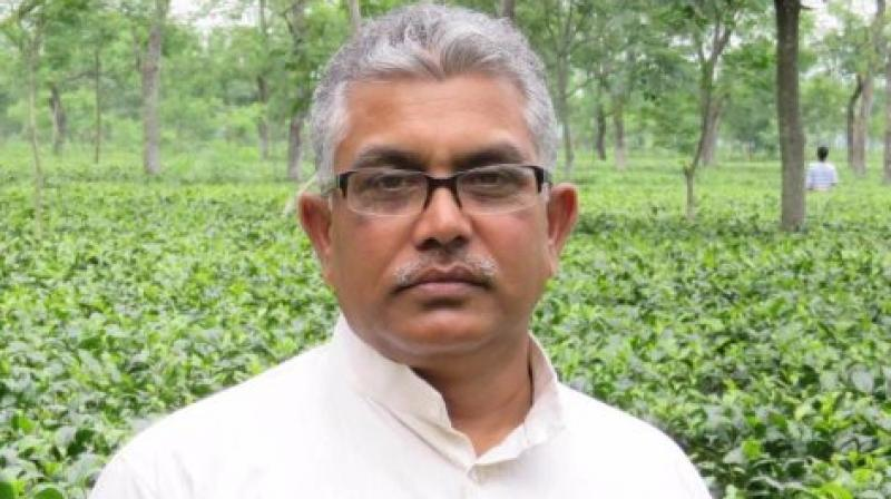 West Bengal BJP president Dilip Ghosh