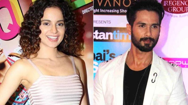 Kangana and Shahid's 'Rangoon' releases on February 24.