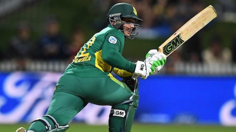 Quinton de Kock made 69 from 64 balls. (Photo: NZC)