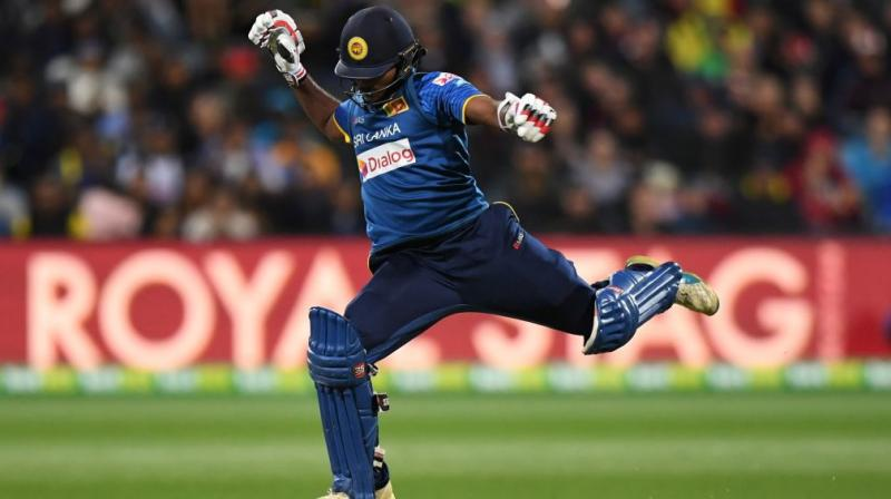 The Sri Lankans also won the opening game in Melbourne with a boundary on the last ball. (Photo: ICC)