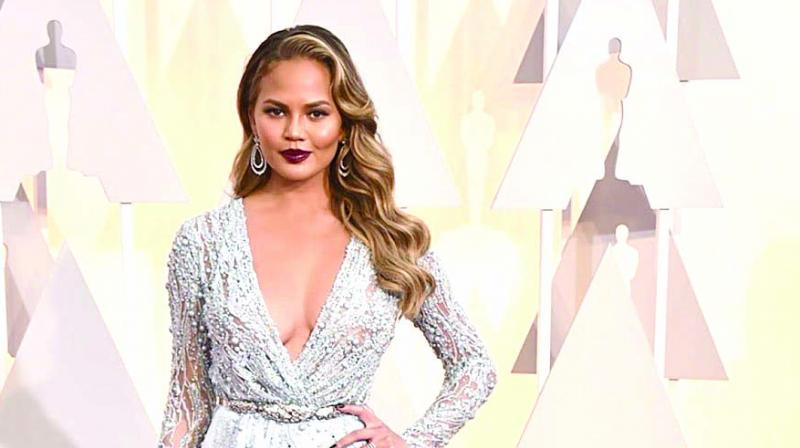 Picture of Chrissy Teigen used for representational purpose only