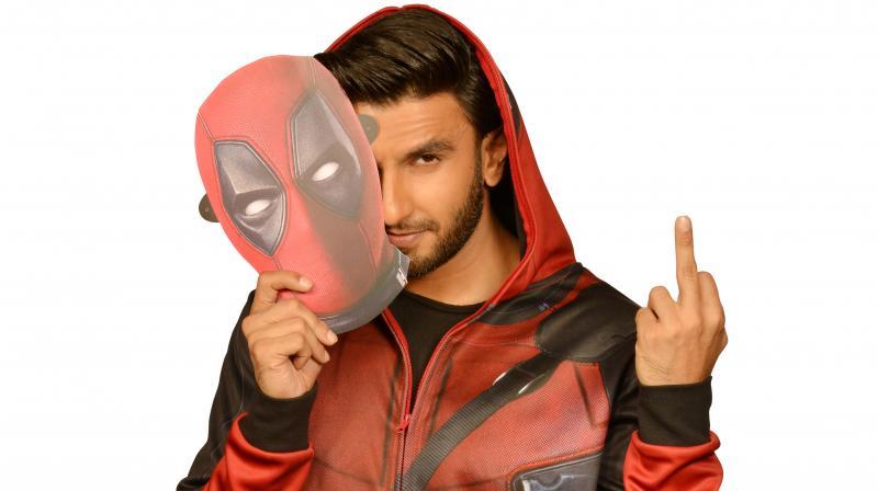 Ranveer Singh is the voice of Ryan Reynolds in 'Deadpool 2'.