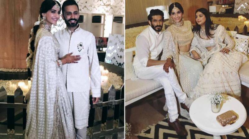 Inside pictures of Sonam Kapoor's Sangeet ceremony. (Photo: Instagram)