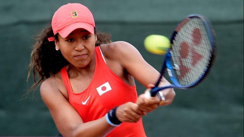 Japan-born Naomi Osaka. AFP Photo