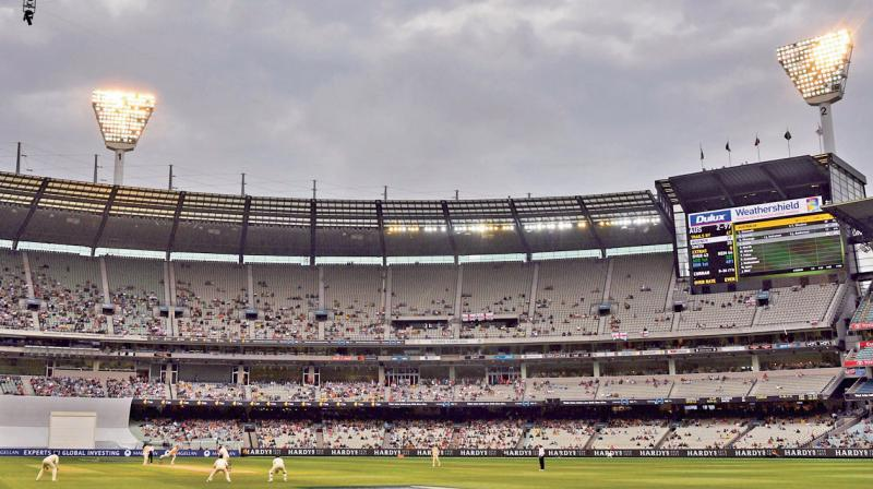 The Melbourne Cricket Ground. DC File Photo