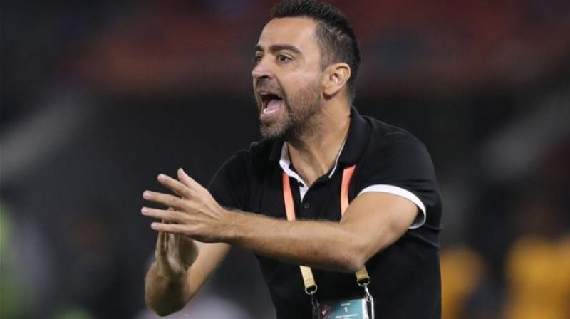Xavi Hernandez, coach of Al-Sadd in Qatar.