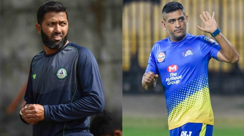 Wasim Jaffer who shared Team India dressing room with Mahendra Singh Dhoni.