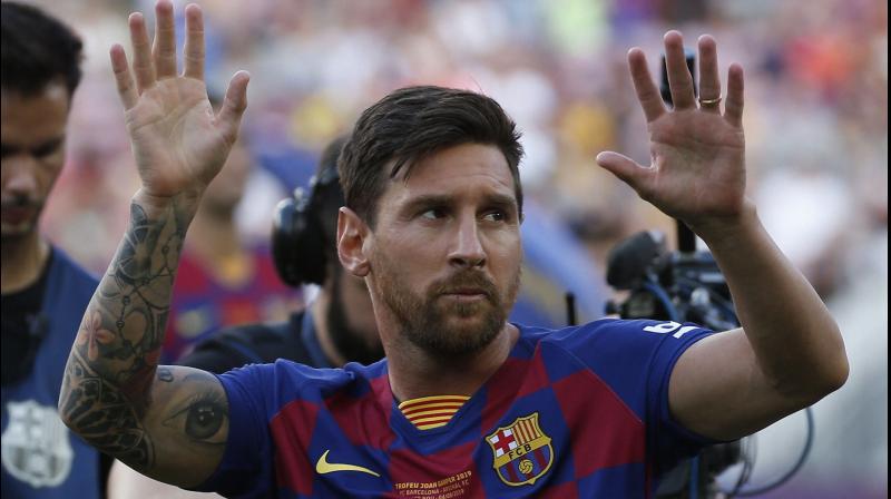 ENOUGH IS ENOUGH: Barcelona forward Lionel Messi. AP Photo