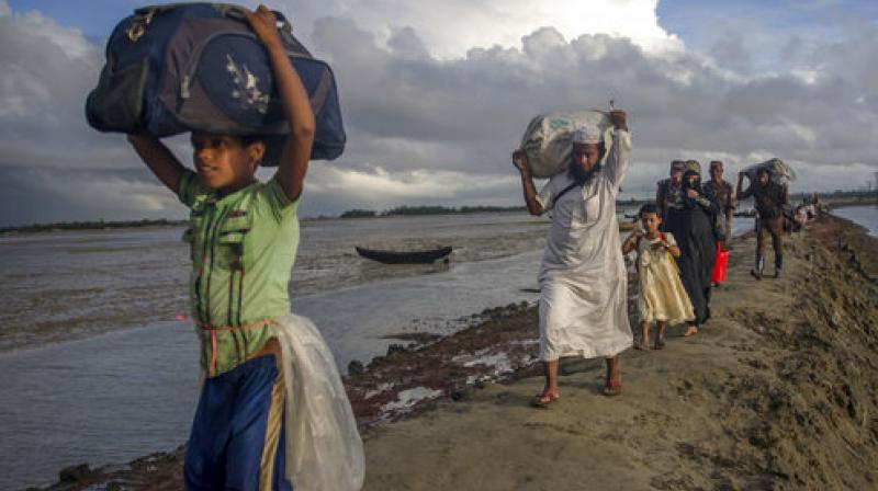 Under the agreement, Rohingya are required to present residency documents, which few have, before being allowed to return to Myanmar. (Photo: AP/File)
