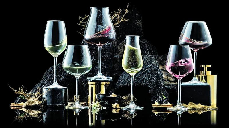 Since presentation plays a huge role in serving a drink, a lot of thought goes into designing a glassware.