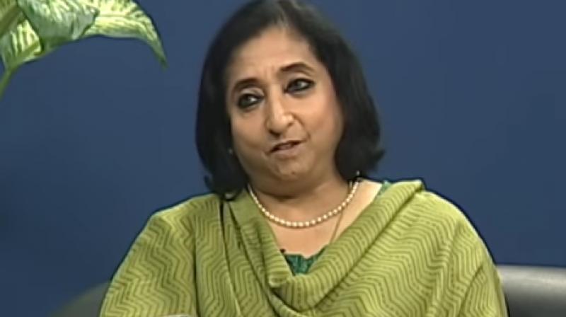 CBEC chief Vanaja N Sarna (Photo: Youtube screengrab)