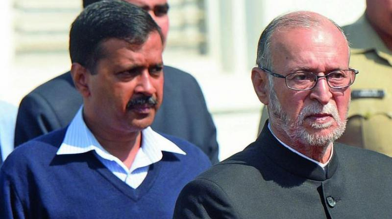 Chief Minister Arvind Kejriwal on Monday wrote to Baijal wondering how he can be 'selective' in accepting the Supreme Court judgement on power tussle between the Delhi government and the Centre. (Photo: File)