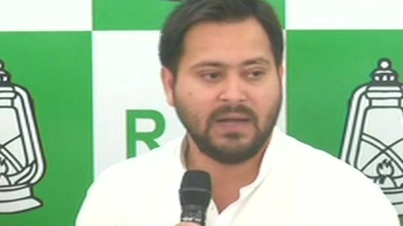 The dissident in the RJD has been brewing since Lalu Yadav handed over reins of the party to his younger son Tejashwi Yadav after he was convicted and jailed in the fodder scam. (Photo: ANI/twitter)