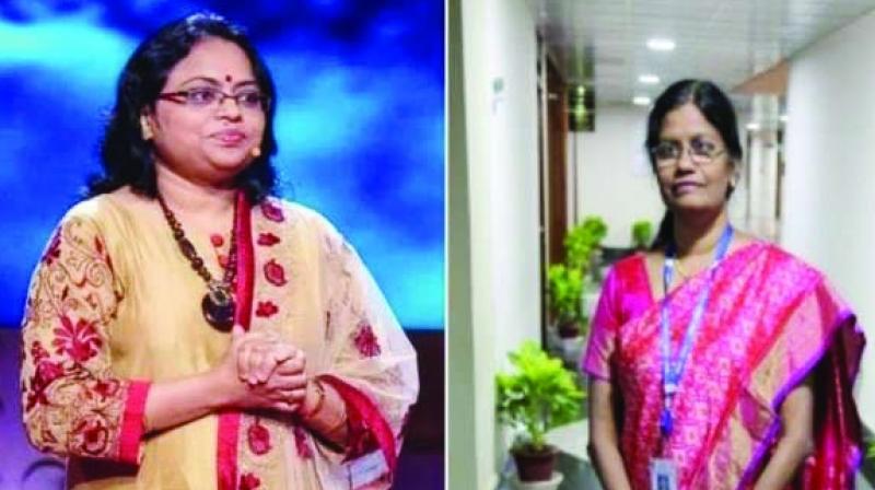 While Vanitha has been incharge of ISRO's Digital Systems Group, Ritu is the Deputy Op. Director of  MOM.