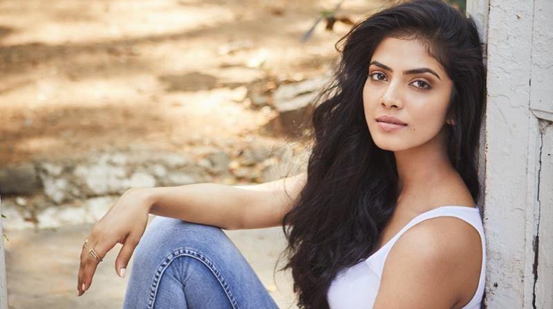 Malavika Mohanan during a photoshoot.