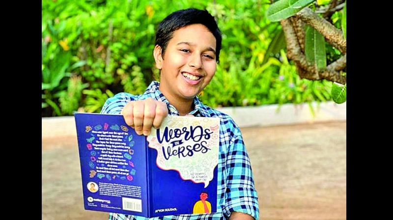Children are often told to keep their heads in the schoolbooks, which can make extracurricular creative pursuits difficult. But 12-year-old Aryan Kaushal from Mumbai is an exception: He has moulded his experiences and conversations into poems and compiled them all into a poetry book.
