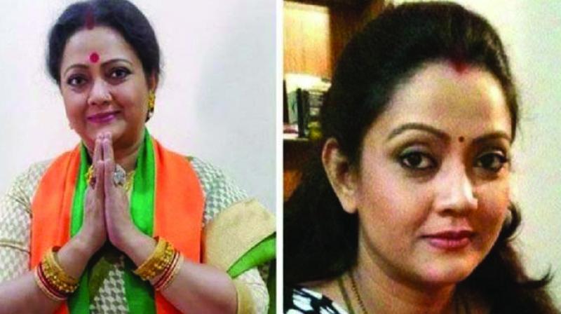Actor-turned-politician Subhadra Mukherjee