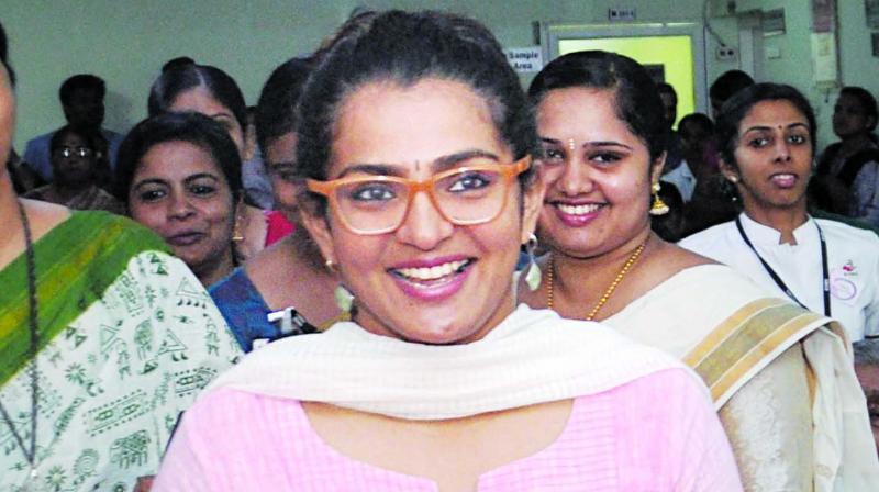 Malayali actress Parvathy