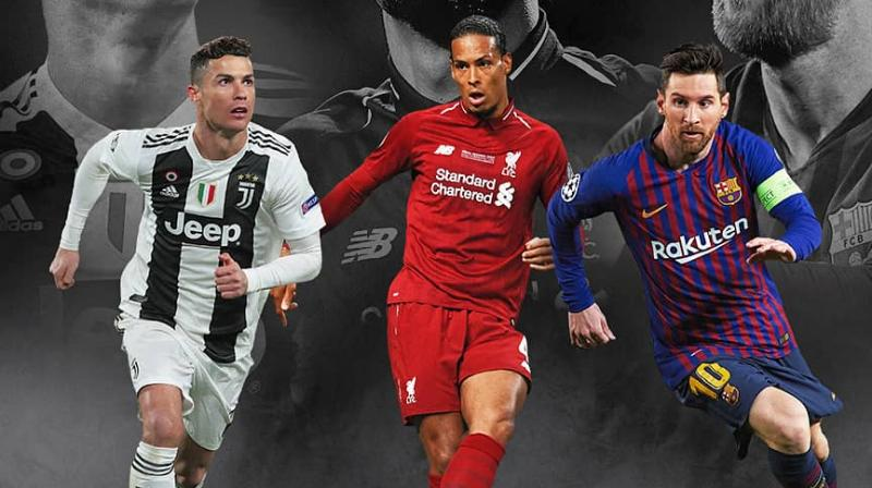 For the men's award, the shortlisting was done by a jury consisting of 80 coaches of the clubs which participated in the group stages of the 2018-19 UEFA Champions League and UEFA Europa League. (Photo: UEFA Champions League/Twitter))