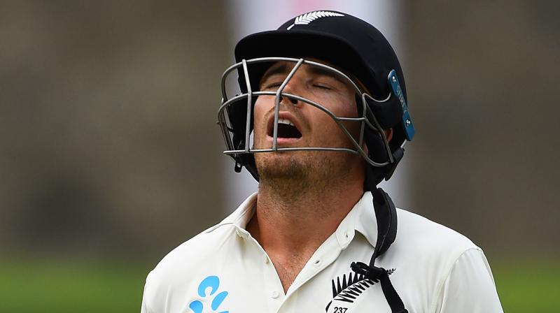Southee has already surpassed former cricketers AB de Villiers, Sanath Jayasuriya and Ian Botham in the list of most sixes in Test cricket. (Photo: AFP)