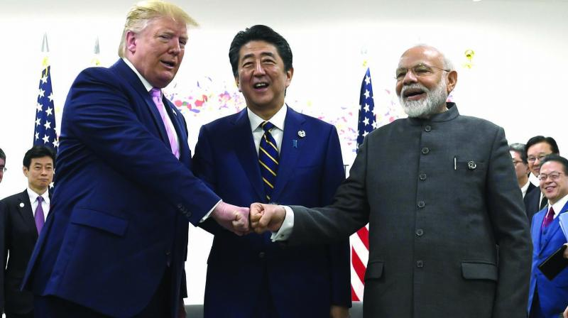Reflecting the strong bi-partisan support in the US Congress to boost Indo-US defence ties, a powerful congressional committee has passed a legislative amendment seeking additional steps to implement the Major Defense Partner designation on India, including through appropriate technology transfers. (Photo: File)