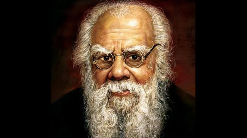 Periyar's philosophy and action revolved around his opposition to Brahminism and gave birth to the ideology of present day parties DMK, AIADMK and MDMK. (Photo: Twitter)