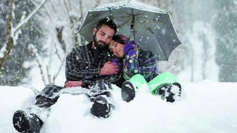 A still from Haider shot in Kashmir