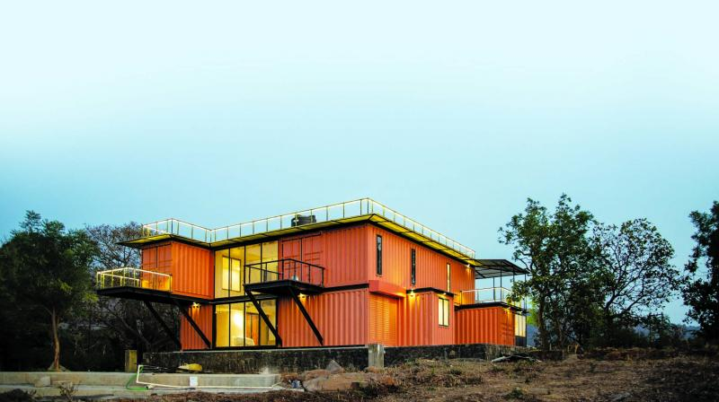 Taking the metaphor 'think-out-of-the-box' quite literally, Pardiwala brothers — Mishal and Mikhail — have turned their barren land in Zirad into a sustainable and affordable living quarter.
