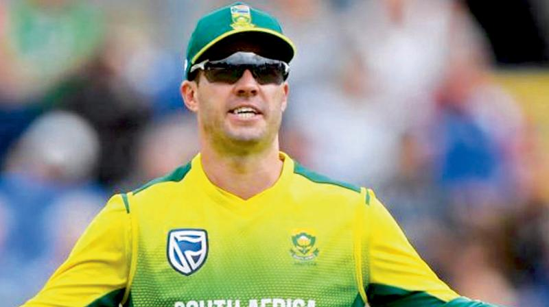BATSMAN PAR EXCELLENCE: AB de Villiers. DC Photo