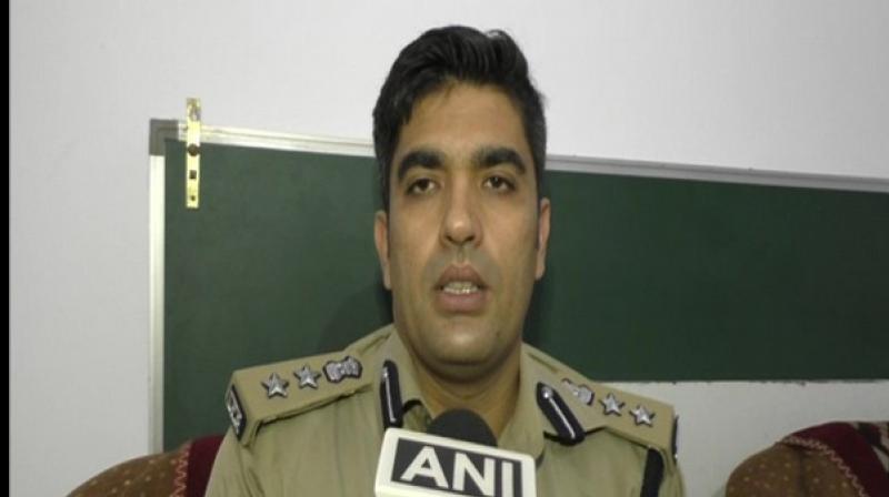 Aligarh Senior Superintendent of Police (SSP) Akash Kulhary. (Photo: ANI)