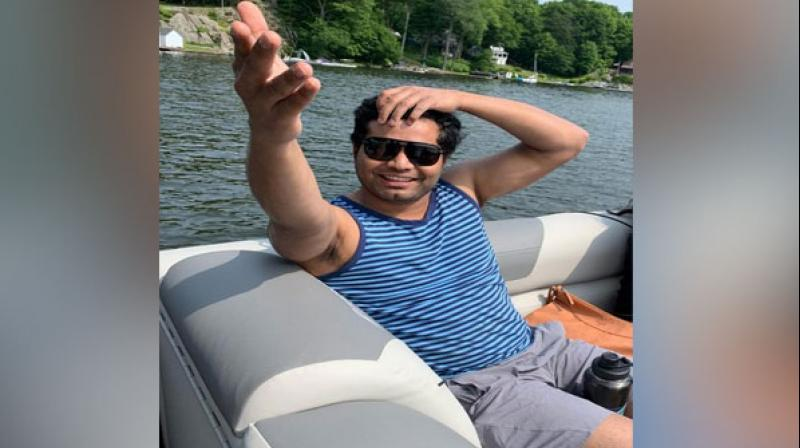 Avinash, who loves boating and even has a license for it, had rented a boat and invited eight of his friends for a joyride in the lake. (Photo: ANI)