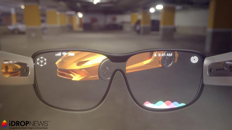 """If Apple released a pair of augmented reality glasses, they would likely work with the iPhone.(Photo: iDrop News)"