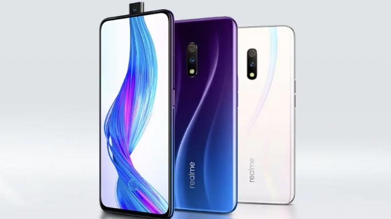 The Realme X has a 6.53-inch AMOLED screen with an under-display fingerprint scanner.