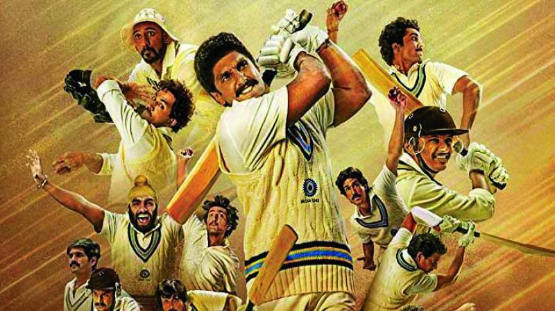 '83' Movie poster