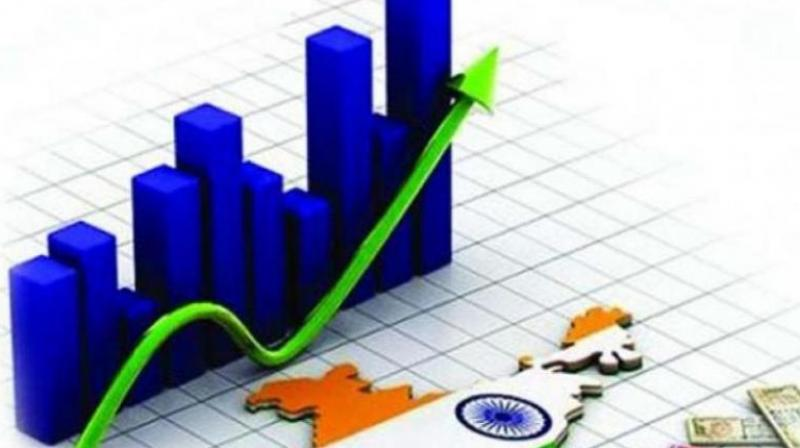 India's economic expansion at 7.7 per cent was significantly higher than China's 6.8 per cent in the same January-March period.