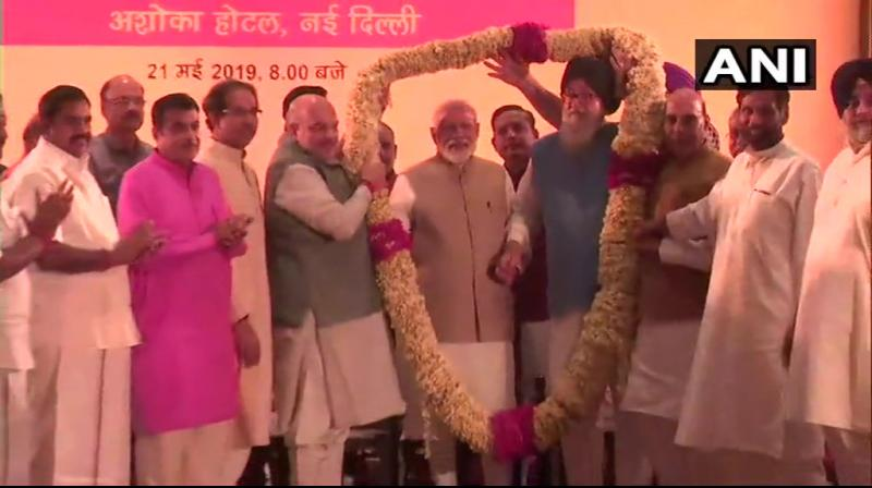 The meeting was attended by ministers including those from the NDA constituents. (Photo: ANI)
