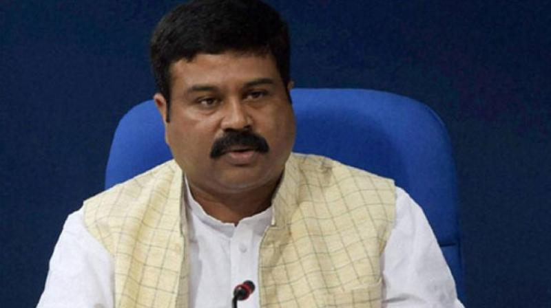 Union petroleum and natural gas minister Dharmendra Pradhan
