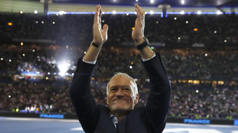 'History shows that France has often struggled in qualifying campaigns', Deschamps told a news conference on Monday.  (Photo: AP)