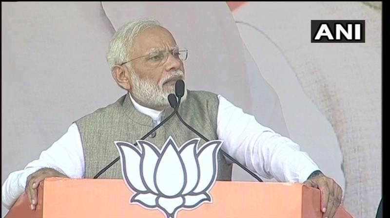 'The state has made efforts to curb naxalism in the state and would continue to fight against the menace' PM said. (Photo: ANI)