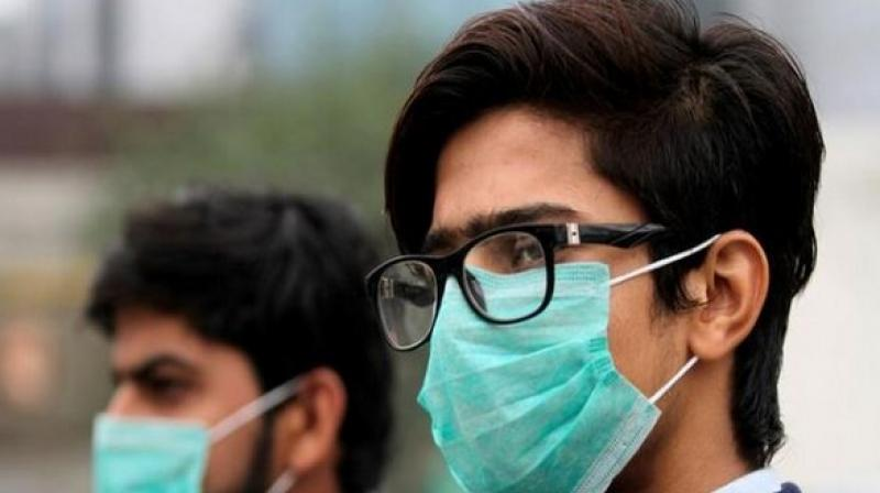 The air quality in the national capital continues to be in the 'poor' category with overall AQI docking at 218 today. (Photo: Representational | ANI)