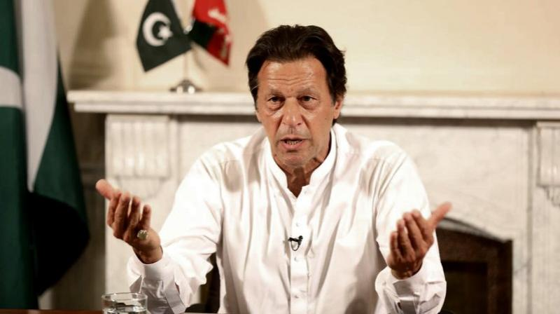 Imran Khan won NA-53 seat by defeating former prime minister Shahid Khaqan Abbasi, bagging 92,891 votes. (Photo: AP)