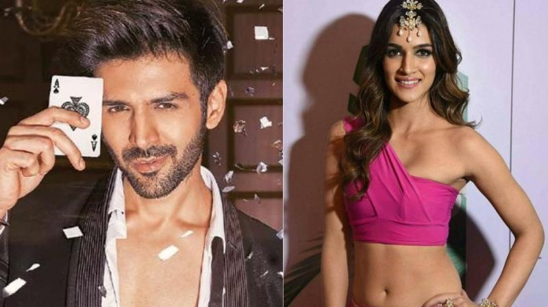 Kartik Aaryan and Kriti Sanon are teaming up for the first time.