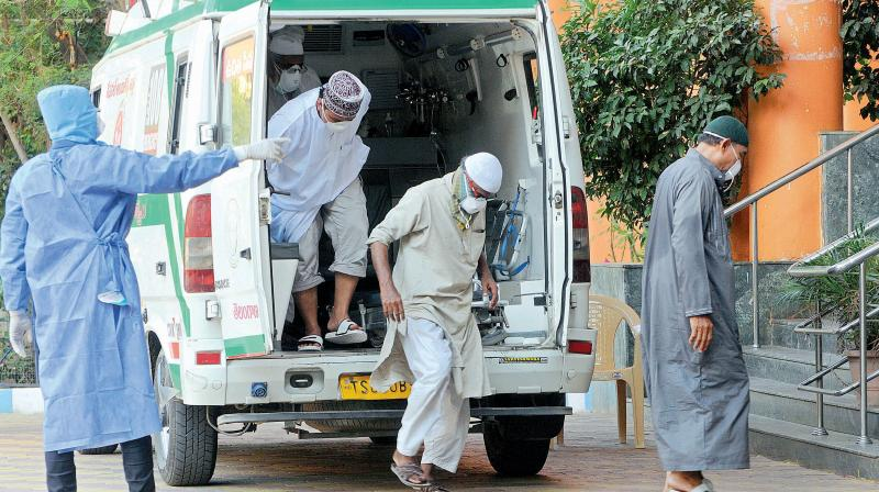 Centre has approved the COVID-19 Emergency Response and Health System Preparedness package aimed at boosting national and state health systems. (AFP Photo)