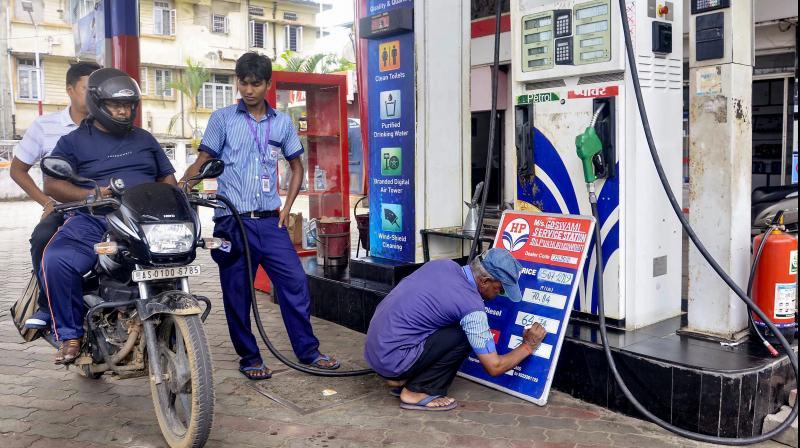 India's fuel sales drop 18 pc in March; petrol demand falls 16.3%. (PTI Photo)