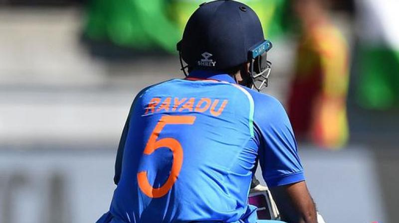 The aforesaid tweet was made in regards to Vijay Shankar given preference over Ambati Rayudu, due to the former's 'three-dimensional' abilities. (Photo: AFP)
