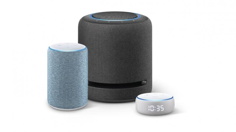 he new devices include three new Echo smart speakers. These join Echo Dot, Echo Plus, Echo Show, Echo Show 5, and Echo companion devices – Echo Sub, Echo Link, Echo Link Amp – to create the Echo family of devices.
