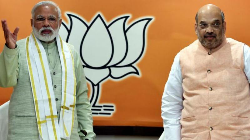 Prime Minister Narendra Modi and Home Minister Amit Shah (Photo: PTI/File)