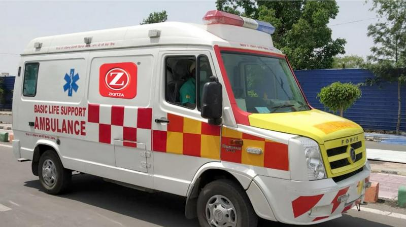 A fleet of 40 ambulances will be launched in phases across the North Zone of India